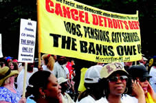 Behind Detroit's emergency manager dictatorship and bankruptcy . . .