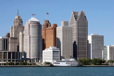 detroit view from river