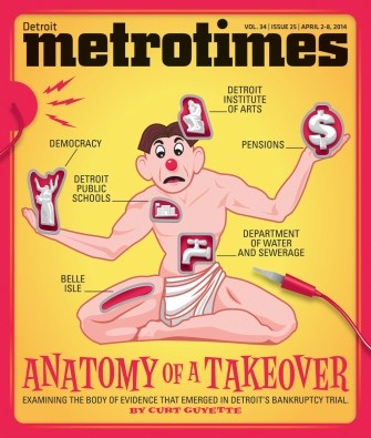 Metro Times Cover-Curt Guyette