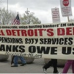 Detroiters: 'No cuts to our pensions!'