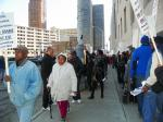 Retirees, Residents March at Detroit Bankruptcy Court, Send Out Call to Shut City Down May 1